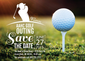 9th Golf Outing Postcard