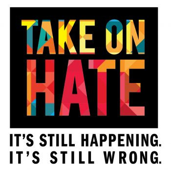 Take On Hate Logo