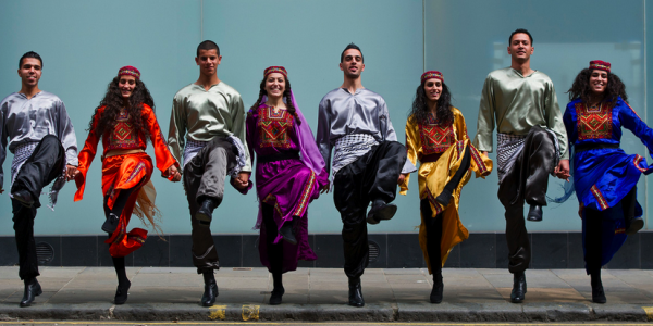 Palestinian Debkah Group From Lajee Cultural Center